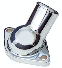 Trans Dapt Performance 9928 Water Neck; SB and BB Chevy- Late Model (1/2 NPT port); O-Ring Seal-CHEVY ORANGE