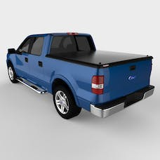 UnderCover UC2080 Classic Tonneau Cover Black Textured Finish Non Paintable w/o Cargo Channel Sys