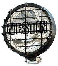 WESTiN Automotive 09-05051 6 in Quartz-Halogen Off-Road Lights w/Grid Black (1 Light Only)