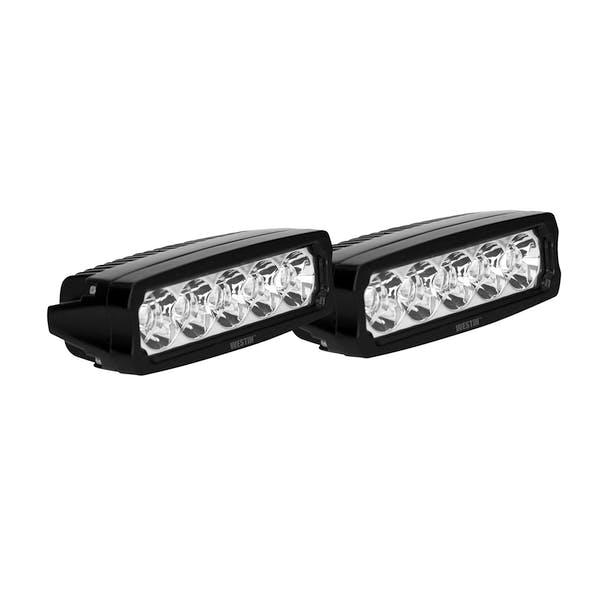 WESTiN Automotive 09-12232-PR EF LED Light Bar Single Row 5.5 inch Flex w/3W Epistar (Set of 2)