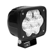 WESTiN Automotive 09-12236B SM LED Auxiliary Light 4.3 inch x 3.6 inch Flood w/5W Osram