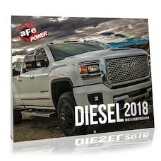 AFE 40-10197 2018 Diesel Calendar