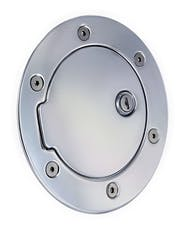 AMI Styling 6041PL AMI Race Style Billet Fuel Dr 6 14/16in. Ring O.D. 4 1/2in. Door O.D.-Polished l