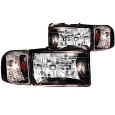 AnzoUSA 111067 Crystal Headlights