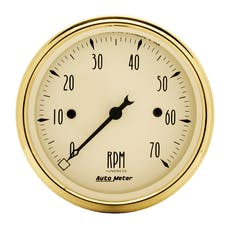 AutoMeter Products 1595 Golden Oldies Electric Tachometer 3 1/8 in. 7000 RPM
