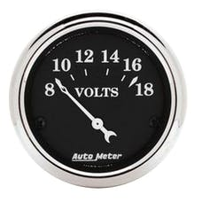 AutoMeter Products 1791 Voltmeter  8-18 Volts