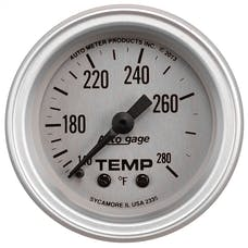 """AutoMeter Products 2335 2-1/16"""" Water Temperature Guage, 140-280 Γö¼ΓûæF"""