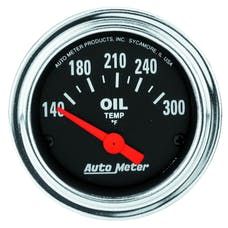 AutoMeter Products 2543 Oil Temp Gauge 140-300 F