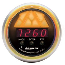 AutoMeter Products 3388 Shift Light  5 Stage  Tri-Color  Red Led  Black Dial