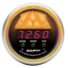 AutoMeter Products 3389 Playback  Tri-Color  Red Led  Black Dial