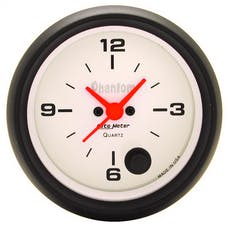 AutoMeter Products 5885 Gauge; Clock; 2 5/8in.; 12Hr; Analog; Phantom