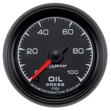 AutoMeter Products 5953 2-1/16in Oil Pressure  0-100 PSI Electric