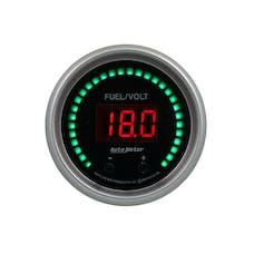 "AutoMeter Products 6709-SC Gauge, Fuel/Volt, 2 1/16"" Two Channel, Selectable, Sport-Comp Elite Digital"