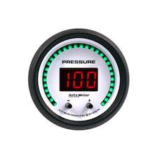"AutoMeter Products 6752-PH Gauge, Pressure, 2 1/16"", Two Channel, Selectable, Phantom Elite Digital"