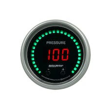 """AutoMeter Products 6752-SC Gauge, Pressure, 2 1/16"""", Two Channel, Selectable, Sport-Comp Elite Digital"""