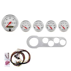 AutoMeter Products 7042-AW 5 Gauge Direct-Fit Dash Kit, Arctic White