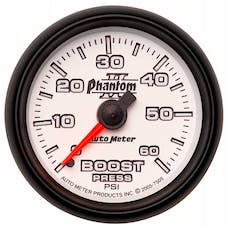 AutoMeter Products 7505 Boost 0-60 PSI Full Sweep