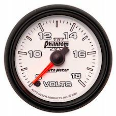 AutoMeter Products 7591 2-1/16in Voltmeter 8-18V FSE Phantom II