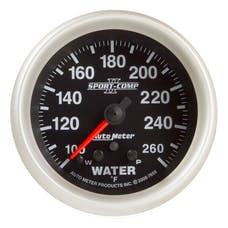 AutoMeter Products 7655 2-5/8in Water Temp, 100- 260F, FSE