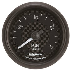 """AutoMeter Products 8010 2-1/16"""" Fuel Level Programmable FSE GT Series"""