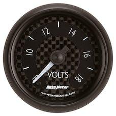 "AutoMeter Products 8091 2-1/16"" Voltmeter 8-18V FSE GT Series"