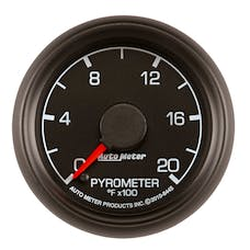 AutoMeter Products 8445 Gauge; Pyrometer (EGT); 2 1/16in.; 2000deg.F; Stepper Motor; Ford Factory Match