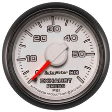 """AutoMeter Products 8525 2-1/16"""" Exhaust Pressure 0-60 psi, mech, Dodge Match"""