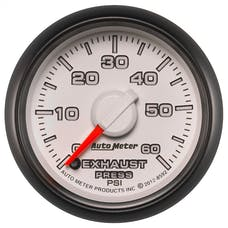 """AutoMeter Products 8592 2-1/16"""" Exhaust Pressure 0-60 psi, FSE, Dodge Match"""