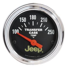 AutoMeter Products 880430 Traditional Chrome│ Electric Transfer Case Temp Gauge