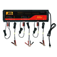 AutoMeter Products BUSPRO-660 BusPro AGM Optimized Multi Battery Charging Station