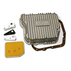 B&M 10280 Cast Aluminum Automatic Transmission Oil Pan
