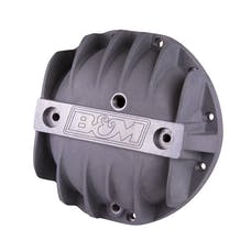 B&M 70500 Cast Aluminum Differential Cover for GM 8.875in. 12 Bolt Car