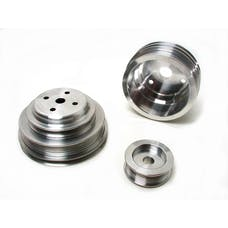 BBK Performance Parts 1598 Power-Plus Series Underdrive Pulley System