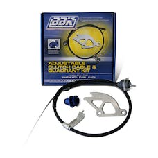 BBK Performance Parts 16095 Clutch Quadrant And Cable Kit