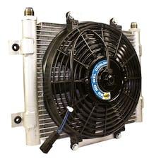 BD Diesel Performance 1300611 Xtrude Core Heavy Duty Trans Cooler w/Fan /-10 JIC Male Connection