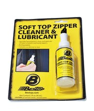 Bestop 11206-00 Soft Top Zipper Cleaner/Lubricant One 2-oz. bottle (retail package)