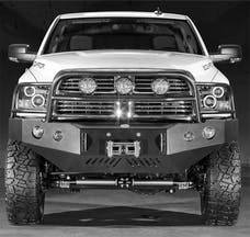 Body Armor DG-19337 Front Winch Bumper with grill guard