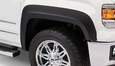 Bushwacker 40149-02 Extend-A-Fender Flare - Front Pair - OE Matte Black