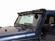 Carr 210221 Light Bar for X/Sahara/Rubicon Black Powder Coat