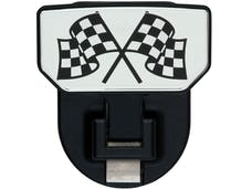Carr 183082 HD Universal Hitch Step Checkered Flag-single