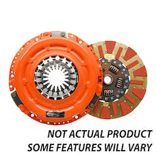Centerforce DF271675 Dual Friction(R), Clutch Pressure Plate and Disc Set
