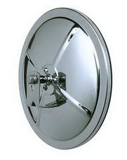 Cipa 48852 8.5 Stainless Steel Convex Mirror Reduces blind spots. L-Bracket included