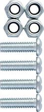 Cruiser Accessories 80330 Fastener Set (Steel, Metric)