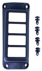 Daystar KJ71055BK A-Pillar Switch Pod; Black (Switches Sold Separately)