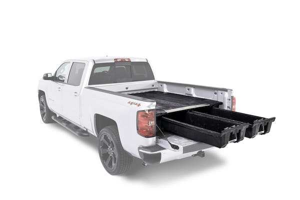 """DECKED DS3 75.25"""" Two drawer storage system for a full size pick up truck"""