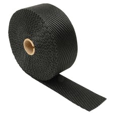 "Design Engineering, Inc. 010004 Exhaust Wrap - 2"" x 25 ft - Titanium Black"