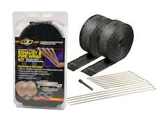 Design Engineering, Inc. 010073 Exhaust Wrap Kit - Black Titanium Wrap, Locking Ties & Locking Tie Tool