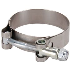 DEI 010214 Wide Band All Stainless Steel Clamp-2.25in. to 2.56in.-1 per pack