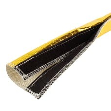 "Design Engineering, Inc. 010458 Heat Shroud - Gold - 1/2"" to 1-1/4"" I.D. x 3ft"