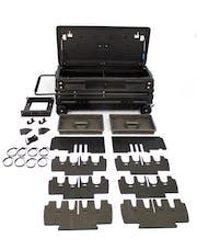 DU-HA 70671 DU-HA Squad Box with Internal Latch w/Slide Bracket